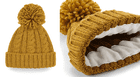 Personalised Cable Knit Melange Beanie
